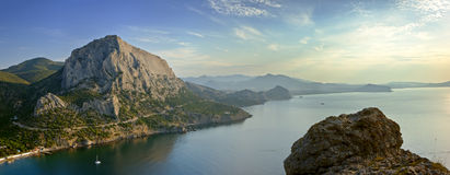 Crimea coast Royalty Free Stock Photos