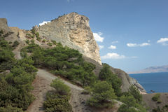 Crimea coast Stock Image