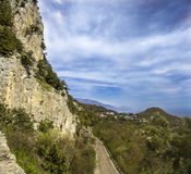 Crimea coastline Stock Photography