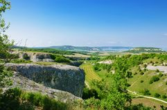 Crimea dal royaltyfria foton