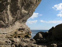 Crimea, el Mar Negro Fotos de archivo