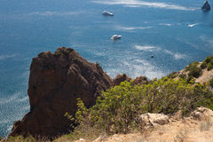 Crimea foreland at summer day Stock Photography