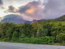 Crimea, Foros, Mountains Of Crimea, Forest. Unusual beauty of the Crimean mountains, crisp air, beautiful sunsets Royalty Free Stock Images