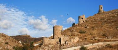 Crimea. Fortress In Balaklava Harbor. Stock Image