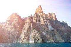 Crimea góry Karadag Fotografia Royalty Free