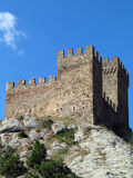 Crimea. Genoese fortress Royalty Free Stock Photo