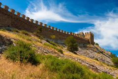 Crimea Genoese fortress Royalty Free Stock Photos