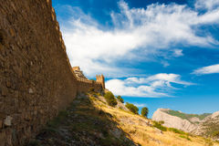 Crimea Genoese fortress Stock Photo