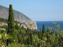 Crimea, Gurzuf Stock Photo