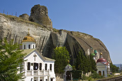 Crimea, Inkermanskiy monastery Stock Photo