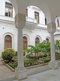 Crimea. Italian court yard of the Livadiysky palace Royalty Free Stock Image