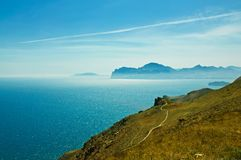 Crimea landscape Royalty Free Stock Images