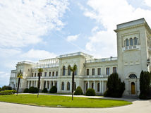 crimea livadiskiy slott ukraine arkivbild