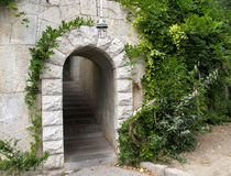 Crimea, Livadiya. Ladder under an arch Stock Photography