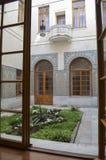 CRIMEA, MAJ - 14, 2012: Piękny Arabski jard w Livadia pałac Obrazy Royalty Free