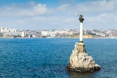 Crimea. Monument to the Flooded Ships Stock Photography