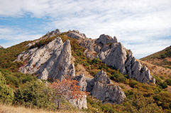 Crimea mountains Stock Photos