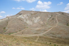 Crimea mountains Royalty Free Stock Photo