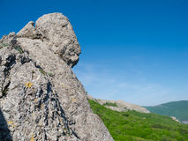 Crimea mountains Royalty Free Stock Photos