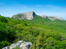 Crimea mountains Stock Photography