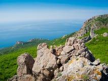 Crimea mountains Stock Image