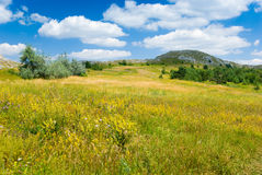 Crimea mountains. Summer landscape in Crimea mountains, Ukraine Royalty Free Stock Images