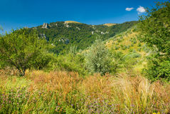Crimea mountains. Summer mountain landscape in Crimea, Ukraine Royalty Free Stock Image