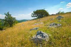 Crimea mountains. Summer mountain landscape in Crimea, Ukraine Stock Photography