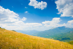 Crimea mountains. Summer mountain landscape in Crimea, Ukraine Stock Photos