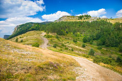 Crimea mountains Royalty Free Stock Images