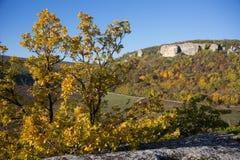 Crimea Mountains in autumn Royalty Free Stock Photos