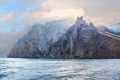 Crimea mountains Karadag stock photos