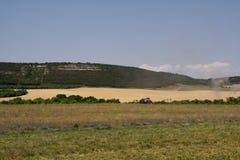 The Crimea mountains. The Crimea mountains landscape taken in Sudak Stock Photo