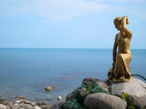 Crimea mountains, rock diva , Cat Rock , Simeiz . Mount Ai-Petri . Types of Crimea. Royalty Free Stock Photo