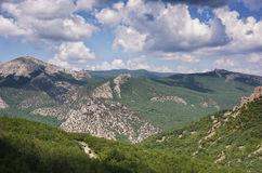 Crimea mountains. Crimea mountains at summertime, Russia Royalty Free Stock Images