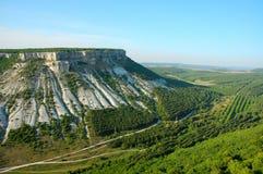 Crimea mountains view. Mountains in Crimea view ,Chufut Kale , Ukraine Stock Images