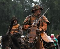 Crimea mounted cavalry 1572 Royalty Free Stock Photo