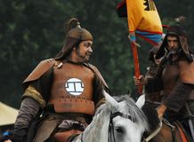Crimea mounted cavalry 1572 Royalty Free Stock Image