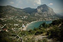 Crimea. New World. royalty free stock photo