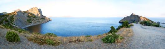 Crimea, Novy Svet. Golitsyn trail, mountain Dolphin Stock Photos