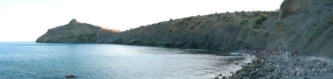 Crimea, Novy Svet. Mountain Dolphin, Golitsyn trail Stock Photography
