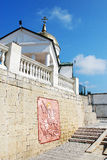 crimea OrtodoxSt George Monastery Royaltyfri Foto