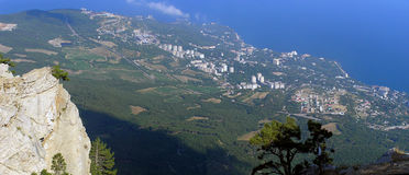 Crimea panorama Stock Photography