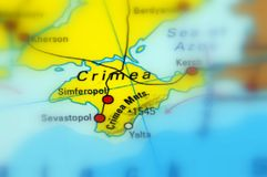 Crimea, Black Sea - Russia. Crimea, is a peninsula on the northern coast of the Black Sea royalty free stock photography
