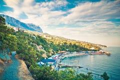 Crimea reserv arkivfoto