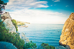 Crimea reserve Royalty Free Stock Photography
