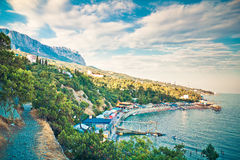 Crimea reserve Stock Photo