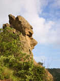 Crimea, Rock as a head Royalty Free Stock Photography