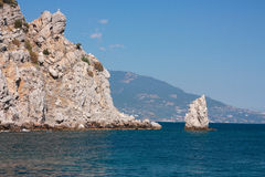 Crimea, rock Royalty Free Stock Image