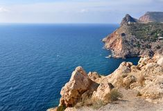 Crimea rocks royaltyfri fotografi